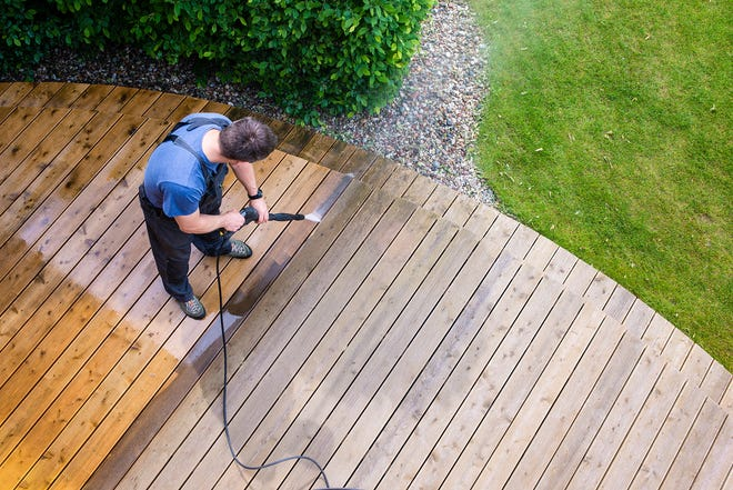 Prepping your deck can help ensure the wood will last for many years.