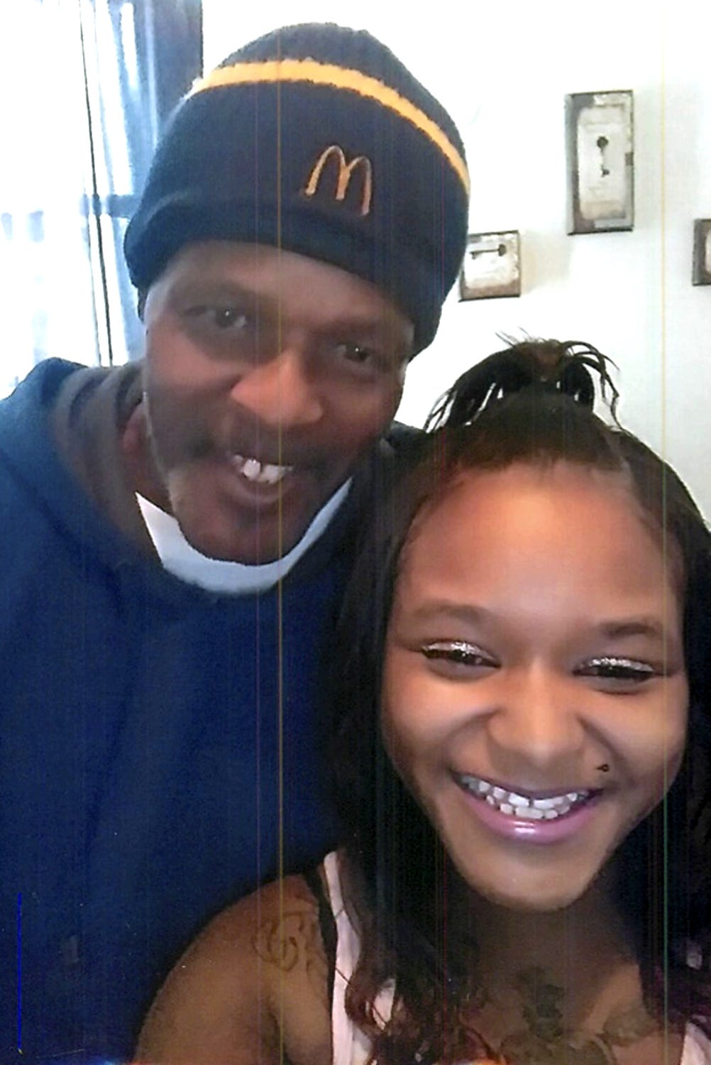 Clarence Murrell and his daughter, Angel Sodamade.