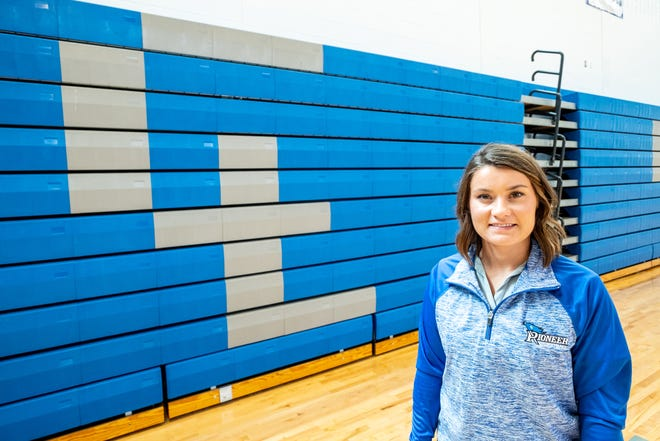 Katelyn Frostic was just hired as Cros-Lex's new girls basketball coach. She is a 2015 Carsonville-Port Sanilac graduate.
