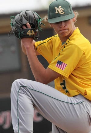 Midland College pitcher Luke Young is coming off a strong freshman season this past spring. The former Wall High School standout is one of several former American Legion players for Ballinger's Post 8 Cannoneers who are making an impact at the college level.