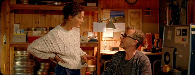 """Vicky Krieps and Tim Roth retreated to the legendary Baltic Sea island where Ingmar Bergman lived and took inspiration from the movie """"Berman Island"""""""