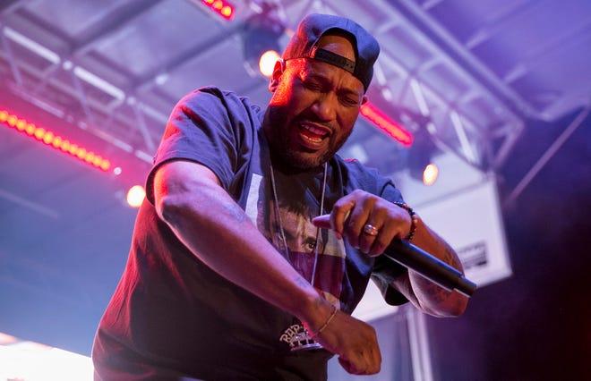 Houston rap legend Bun B hosts his Backyard BBQ at the Far Out Lounge on Saturday.
