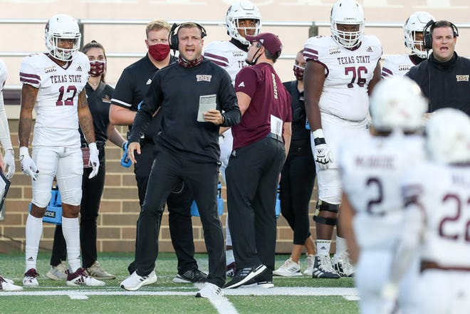"""Texas State coach Jake Spavital improved to 3-0 in Sun Belt openers with last Saturday's dramatic four-overtime win over South Alabama but said Tuesday there's """"a ton"""" of things to fix. """"But I'm excited about the energy that they had, the emotion that they played with,"""" he said. """"I thought we were a very physical team."""""""