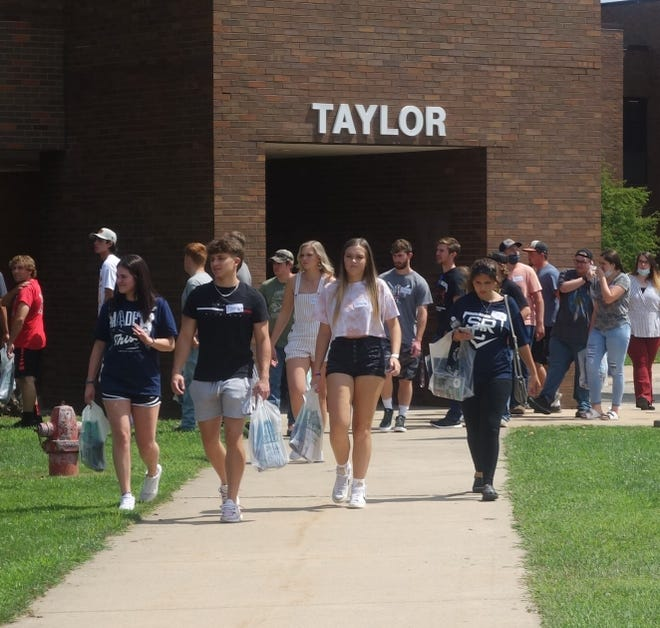 New student orientations were held at both the Canton and Macomb campuses in preparation for the fall semester that started Aug. 23.