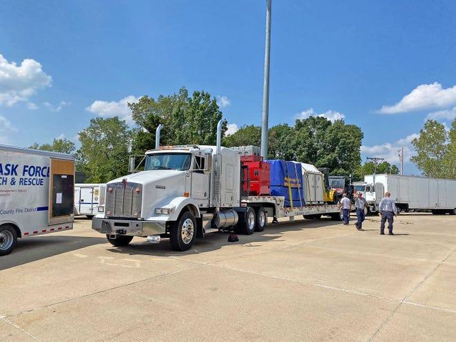 Missouri Task Force 1 has been deployed to respond to Louisiana ahead of Hurricane Ida's expected landfall Sunday.