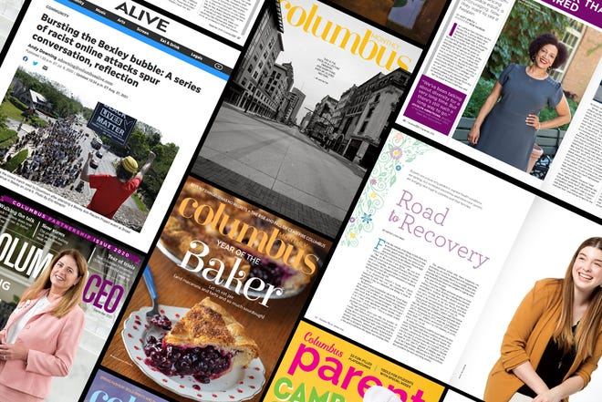 Some of Dispatch Magazines' winning entries