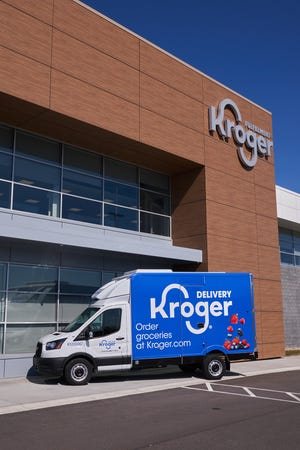 Kroger has been operating a grocery delivery hub out of Groveland since June that can deliver from Tampa to Cocoa and from Jacksonville to Sarasota.