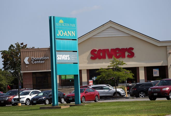 The Newington Park Shopping Center, which includes Savers and other stores as tenants, has been sold.