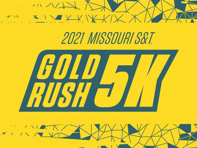 Missouri University of Science and Technology's Gold Rush 5K run and walk will return in 2021 and feature both in-person and virtual race options.