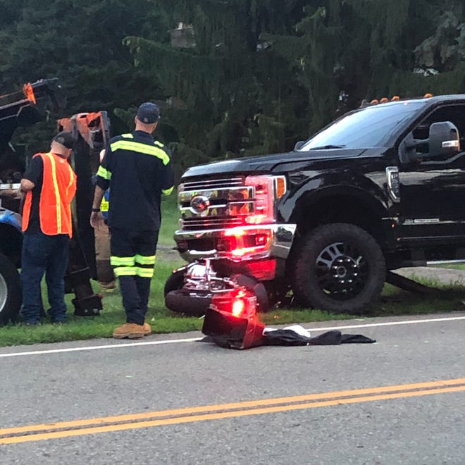 Charles R. Wise, 67, and his wife, Virginia,66, were killed when their motorcycle collided with an SUV and a truck Thursday evening in the 1200 block of Applegrove Street NE near Marelis Avenue in Plain Township.