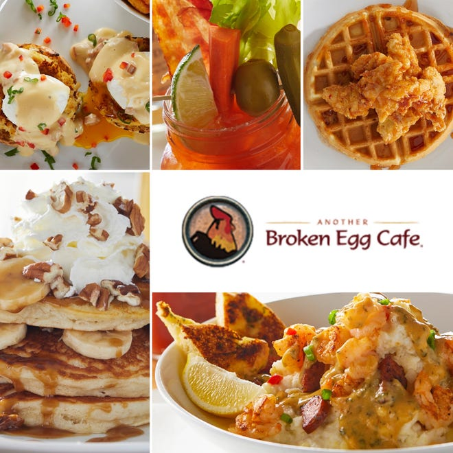 Another Broken Egg Cafe, which includes locations in the South and elsewhere in Ohio, is opening a new restaurant Monday at The Strip in Jackson Township.