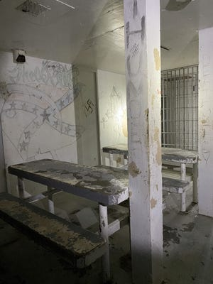 The old jail, which closed in 2020, had lights that did not work and plumbing that often broke.