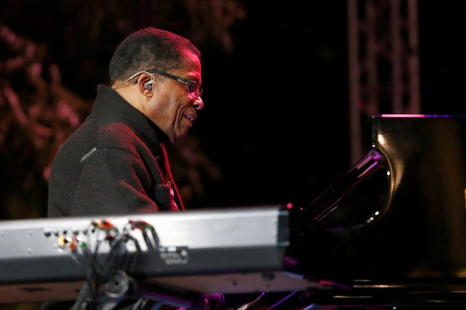 Pianist Herbie Hancock performing at the 2017 Detroit Jazz Festival. He performs this year at 9:10 p.m. Friday.