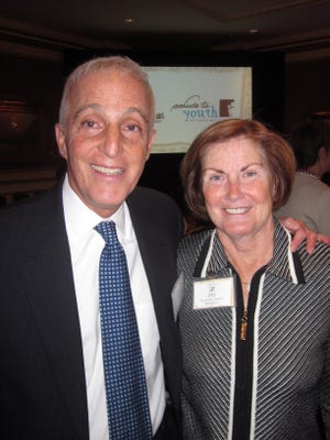 Thomas and Janet Spero at  The Boys & Girls Club Salute to Youth.
