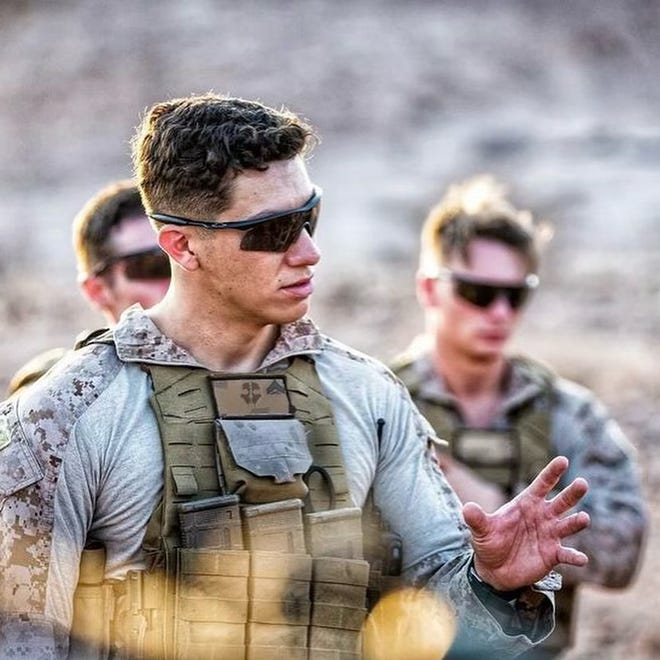 Hunter Lopez, 22, was among 13 U.S. service members killed when a bomb was detonated near the Hamid Karzai International Airport in Kabul, Afghanistan, on Aug. 26, 2021.
