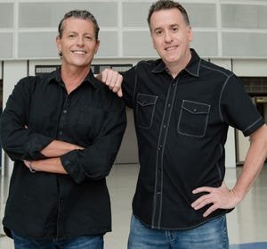 "Dan Bickley and Vince Marotta, hosts of ""Bickley and Marotta"" on Arizona Sports 98.7."