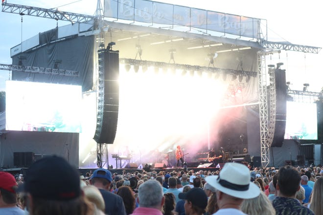 Grammy award winner Keith Urban, co-headliner of the Bash on the Bay 4, closed out the two-day music festival hosted at the Put-in-Bay Airport with its finale performance on Thursday, Aug. 26.