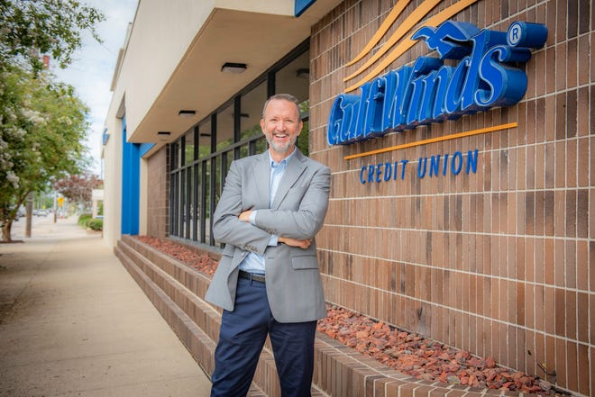 Chris Rutledge, CEO/President of Gulf Winds Credit Union, was chosen as CEO of the Year by the National Association of Federally-Insured Credit Unions for 2021.