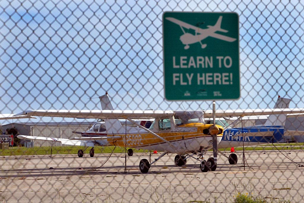 Hijackers Mohamed Atta and Marwan al-Shehhi took flying lessons at Venice Municipal Airport in  Florida.