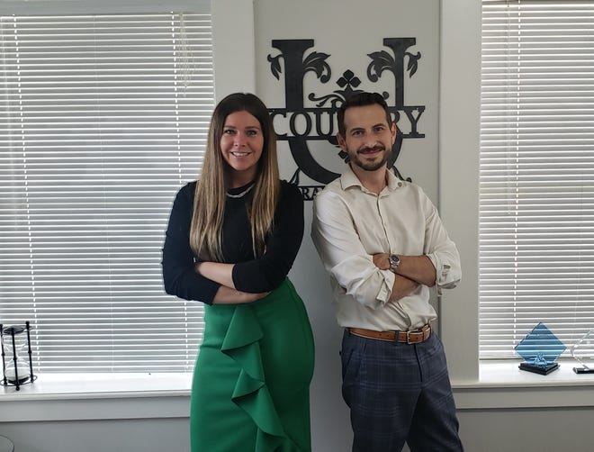United Country Southern Oklahoma Realty has recently become the top-selling real estate company in Southern Oklahoma for the year. Pictured: Owners Sarah Fulton and Marcus Cunningham.