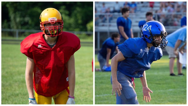 The Rangers (left) were originally supposed to take on the Wildcats (right) last season. The game was cancelled.