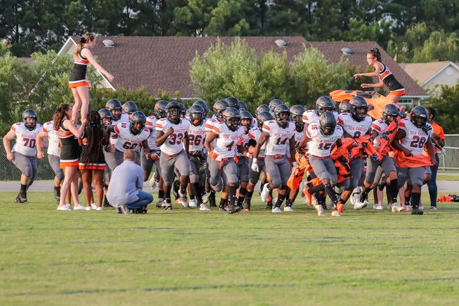 The New Hanover football team was forced to forfeit a game against Leesville Road last week when the Wildcats refused to play with just one day of preparation. New Hanover couldn't practice Monday or Tuesday after the school shooting. Tina Brooks/Gannett Media