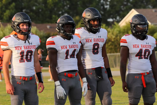 The New Hanover football team faces a big challenge this Thursday with an away game at Leesville Road. TIna Brooks/Gannett Media