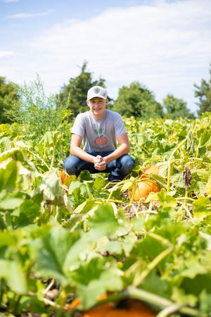 Sam's Pumpkin Patch opens Saturday, September 11th.