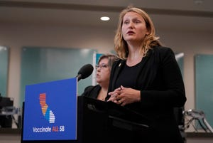 Assemblywoman Buffy Wicks, an Oakland Democrat, and a cohort of her Democratic colleagues in the state Senate and Assembly are working with labor, business and other interests about a possible statewide vaccination mandate.