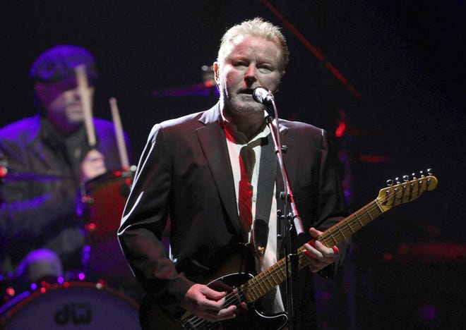 Don Henley of The Eagles performs in Atlanta in a 2017 file photo.