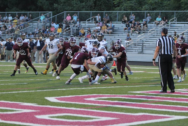 The Trojans scored a total of 56 points, due in large part to their running game.