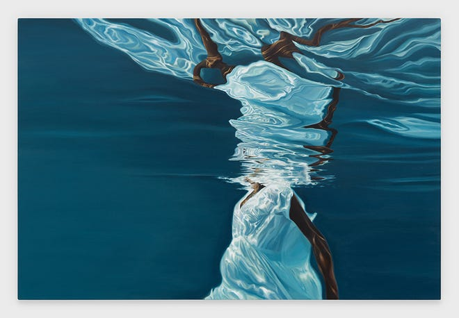 """Pictured is Calida Rawles' work, """"Infinite from Root to Tip."""""""