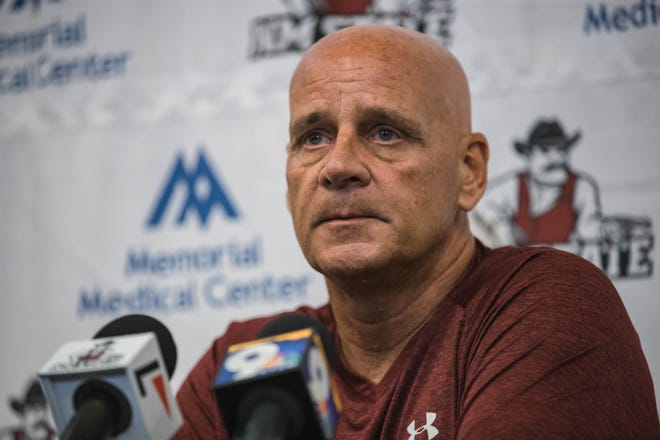 Coach Doug Martin and New Mexico State were preparing to play UCLA and Florida in guarantee games worth more than $2.7 million in 2020.
