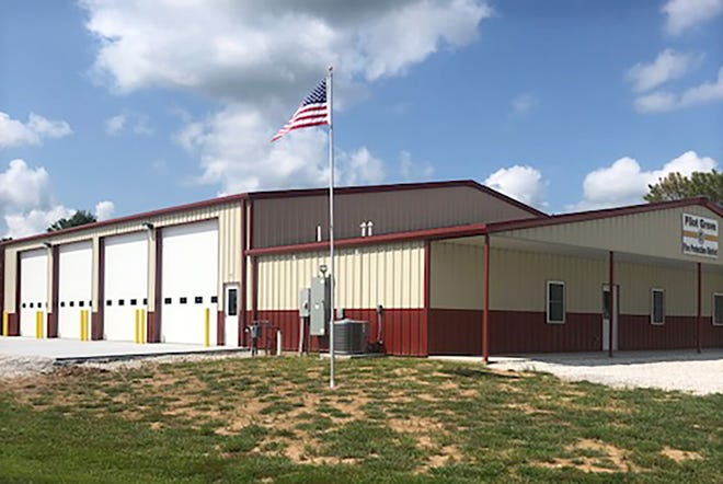The Pilot Grove Fire Fighters held an open house on August 21, 2021 for their new station at 612 College St. (Hwy 135) in Pilot Grove. This new station was made possible by an interest free loan from the USDA REDLG program in conjunction with COMO Connect. Their Board members: Corey ten Bensel, John Schuster and Gene Eulinger along with Representative Tim Taylor and Mayor Dennis Knipp were present to oversee the dedication.