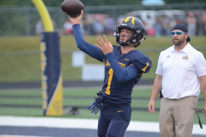Gaylord and Johannesburg sports got underway this past week. Gaylord football played in front of a packed crowd Friday night in their home opener.