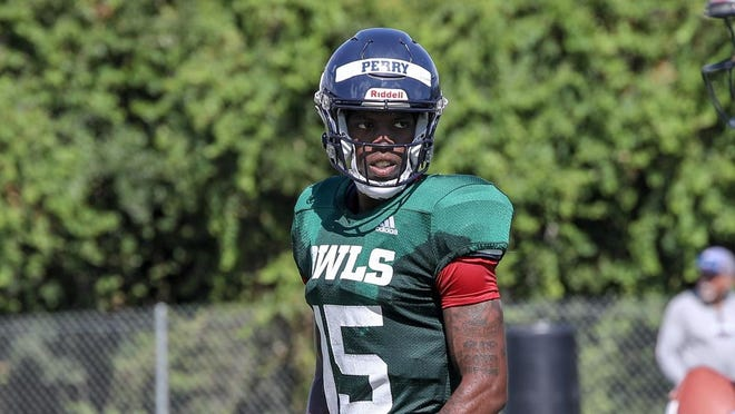 N'Kosi Perry had the most experience of the four quarterbacks vying for the starting job at FAU, having thrown for 2,484 yards and 24 touchdowns in 24 games (9 starts) at Miami.