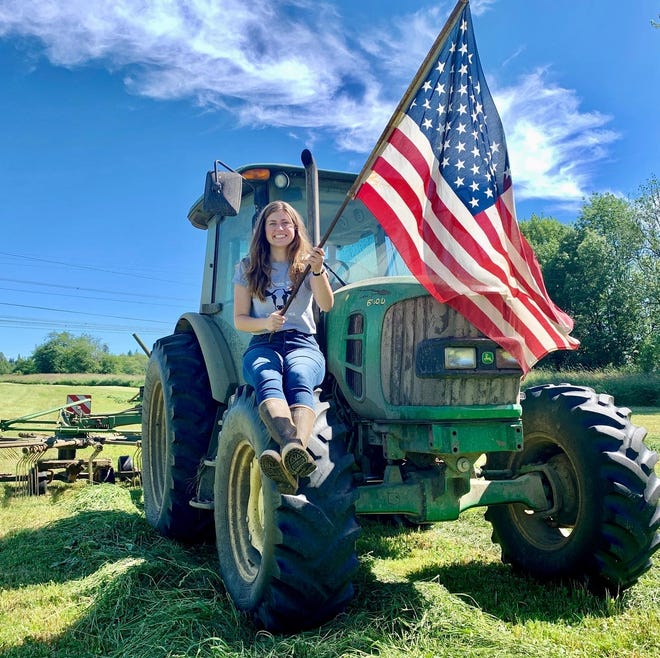 Purdue University student, Natalie Doelman, has been named a finalist in the 2021 #RootedinAg Contest from Syngenta. Doelman's family has a dairy farm in Washington state.