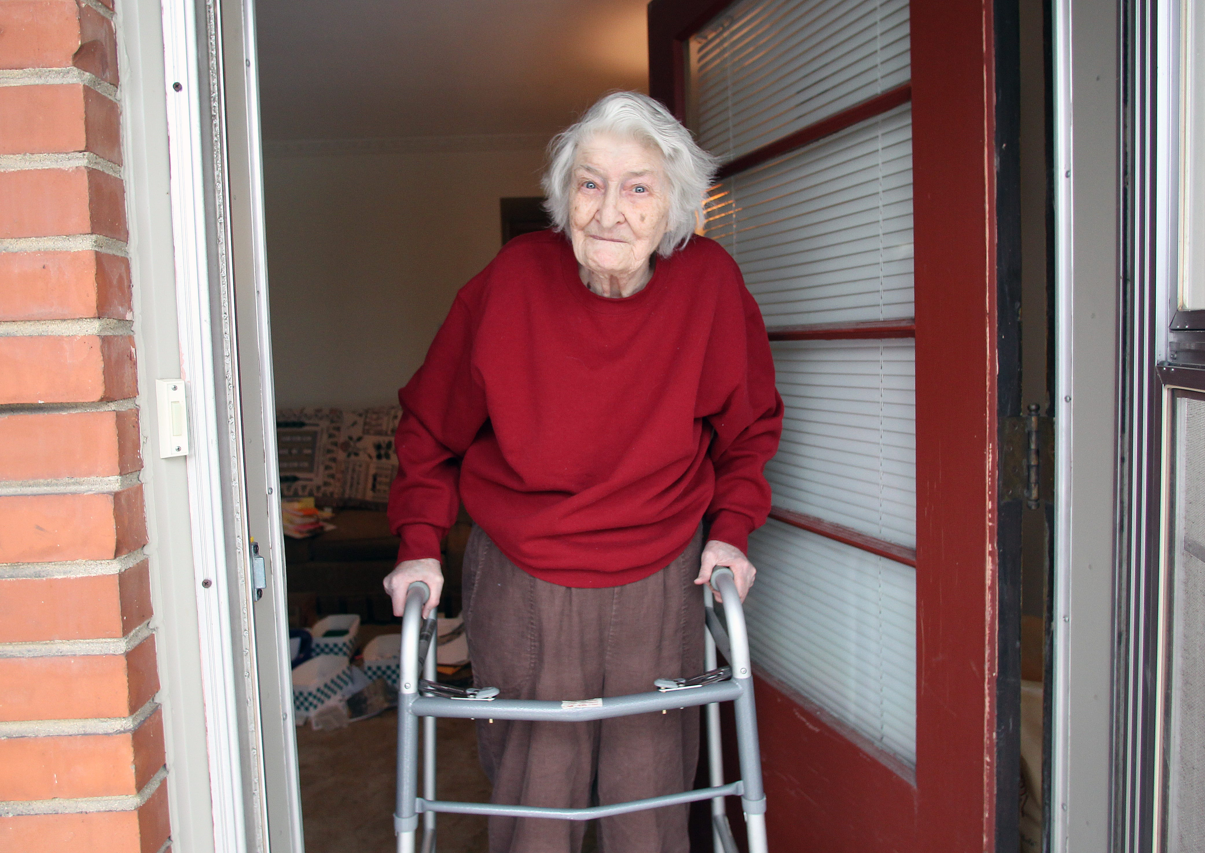 Alberta Lessard, now 93, of West Allis, filed the lawsuit in 1971 that overturned the laws governing commitment for mental illness. As a result, a person can only be committed if he or she is proven to be a danger to himself or others. This photo is from 2011.