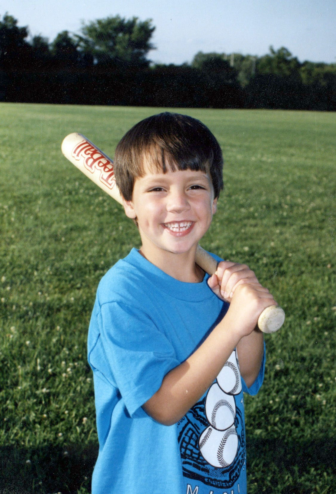 mental sweeney -- Rob Sweeney, age 6, at T-ball ------ Photos for Meg Kissinger story about Rob Sweeney and his mother, Debbie Sweeney, desperate attempt to find him a place to live in California. Rob, 25, grew up in Hales Corners and graduated from Whitnall High School. He suffered from a nervous breakdown in college and was diagnosed with schizo-effective illness, a combination of symptoms: mania, depression, delusions, paranoia. For the past seven years, Rob has been hospitalized 10 times in Milwaukee. He keeps getting kicked out of the places where he lives Ð apartments, group homes, even homeless shelters. ÒHe wonÕt follow the rules,Ó said his mother, Debbie Sweeney. She hopes that she can find a place for Rob where he can live safely, have a job or go to school and make a life for himself. - Photo by Meg Kissinger / mkissinger@jrn.com