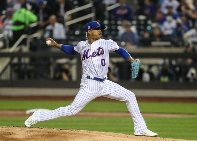 New York Mets pitcher Marcus Stroman limited the Washington Nationals to two runs in six innings of work Saturday at Citi Field.