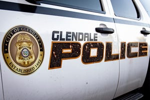 According to Glendale police, a man was hit by oncoming traffic on the U.S. 60 after running into the street to avoid officers.