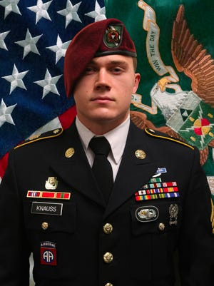 This image provided by the U.S. Army shows Army Staff Sgt. Ryan C. Knauss, 23, of Corryton, Tenn., who was killed in the explosion at the airport in Kabul, Afghanistan.