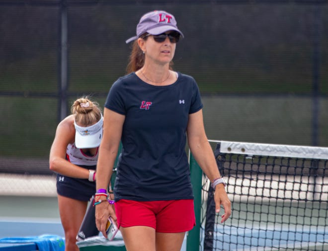 """Lake Travis coach Carol Creel and the Cavs' tennis team stayed undefeated with a win over Dripping Springs last week. """"We return almost all of our top lineup from last year with a large group of seniors, who bring depth and experience, especially with doubles,"""" Creel said. """"It should be a great season."""""""