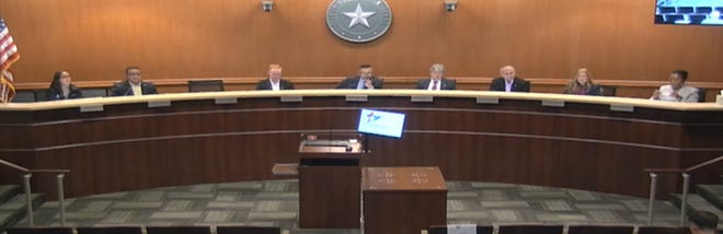 The Round Rock City Council on Thursday gave initial approval to the city's $535.4 million budget and property tax rate for the upcoming fiscal year.