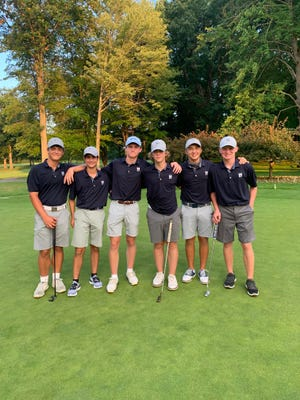 The Hudson boys golf team is off to a strong start in 2021.