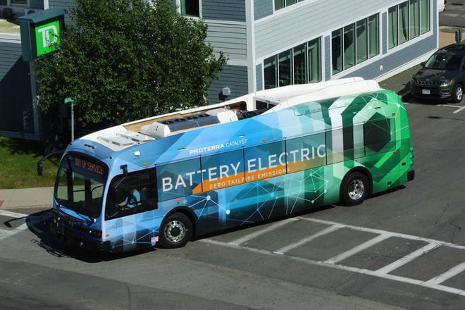 Proterra's Catalyst E2 Series electric bus will join Augusta Transit's fleet for a preview from Tuesday, Aug. 31, to Thursday, Sept. 2.