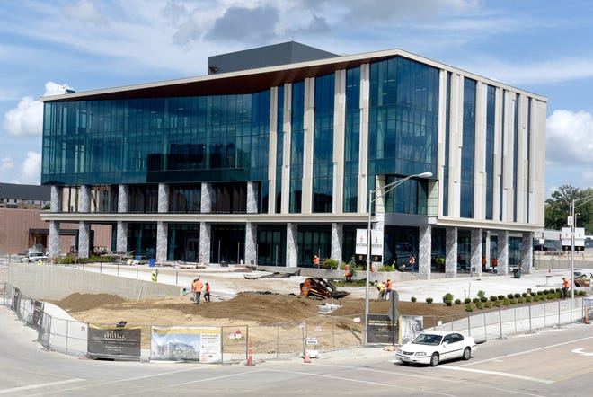 The NextGen Precision Health building is nearing completion on campus at the University of Missouri.