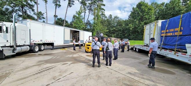 Missouri Task Force 1 members are in Louisiana preparing to conduct rescue efforts following Hurricane Ida making landfall this weekend.