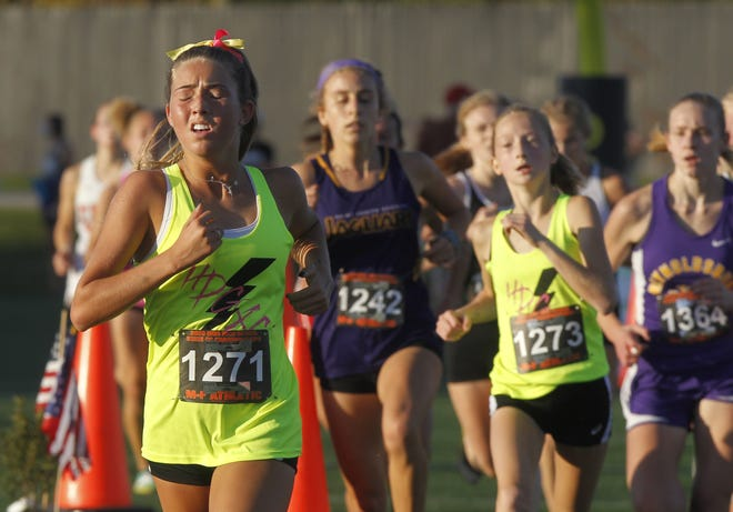 Junior Keagan Gehring and Davidson are looking for big things after a 2020 season in which the Wildcats won league, district and regional titles before finishing second at state.