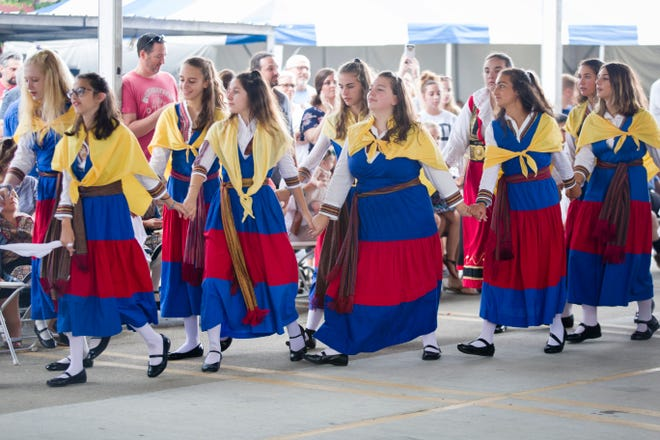 The Greek Festival will take place this weekend at the Annunciation Greek Orthodox Cathedral.